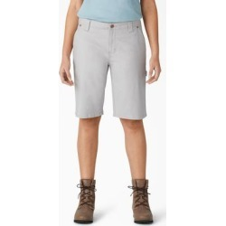 Dickies Women's Duck Carpenter Shorts - Rinsed Alloy Size 6 (FR2700) found on Bargain Bro from Dickies.com for USD $22.79