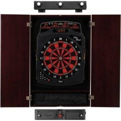 Viper Solar Blast Electronic Dartboard & Cabinet Set w/ Darts (Wayfair Exclusive), Size 32.0 H x 24.0 W x 7.0 D in 40-9032 found on Bargain Bro Philippines from Wayfair for $387.56