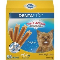 Pedigree Dentastix Mini Dental Dog Treats, 58 count
