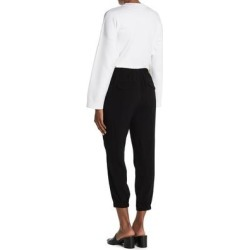 Pull-on Pants - Black - Vince Pants found on Bargain Bro from lyst.com for USD $72.20
