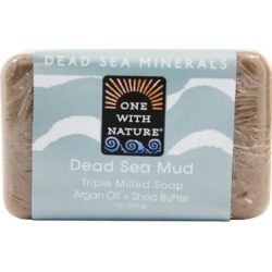 One With Nature - Dead Sea Mineral Bar Soap Rejuvenating Dead Sea Mud - 7 oz. (Bar - White) found on Bargain Bro Philippines from Overstock for $7.80
