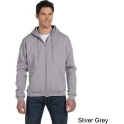 Champion Men's 9-ounce Eco 50/50 Blend Full-zip Jacket (M,silver grey), Gray(cotton) found on Bargain Bro Philippines from Overstock for $37.49
