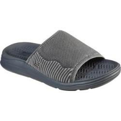 Skechers Men's Sandals GRY - Gray Relaxed Fit Sargo Mar Way Sandal - Men found on Bargain Bro Philippines from zulily.com for $49.99