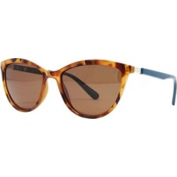 Sperry Women's Sunglasses Brown - Tortoise & Teal Polarized Sabre Cat-Eye Sunglasses found on Bargain Bro from zulily.com for USD $22.79