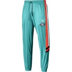Puma Mens Track Pants Running Fitness - Puma White - M (Blue Turquoise - L), Men's(polyester) found on Bargain Bro from Overstock for USD $41.91