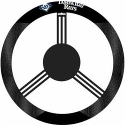 NeoPlex NCAA Steering Wheel CoverPolyester/Polyester blend in Black, Size 15.0 H x 15.0 W x 1.0 D in | Wayfair K68530= found on Bargain Bro Philippines from Wayfair for $21.99