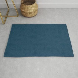Dark Blue Suede. Modern Throw Rug by Colortrend - 2' x 3' found on Bargain Bro Philippines from Society6 for $39.20