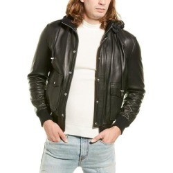 Iro Slice Leather Jacket found on MODAPINS from Overstock for USD $455.62