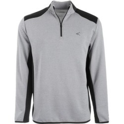 Greg Norman Mens Golf Sweater Gray Size Large L Ottoman Ribbed 1/2 Zip (L), Men's(polyester) found on MODAPINS from Overstock for USD $25.18