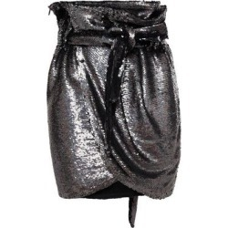 Mahont Wrap-effect Sequined Jersey Mini Skirt - Black - IRO Skirts found on Bargain Bro Philippines from lyst.com for $178.00