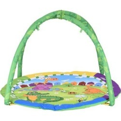wHo Round Baby Play Mat Baby Fitness Mat Baby Fitness Center For Babies, Size 1.77 H x 33.46 W x...