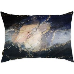Oliver Gal 'Lovers Waltz' Decorative Throw Pillow, Blue, Oliver Gal Artist Co.(Microfiber, Abstract) found on Bargain Bro from Overstock for USD $41.41