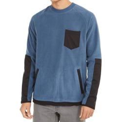 DKNY Mens Sweater Blue Size Medium M Crewneck Polar Fleece Woven Pocket found on Bargain Bro from Overstock for USD $29.62