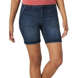 Lee Women's Denim Shorts BEWITCHED - Bewitched Blue Cuff Denim Shorts - Women found on MODAPINS from zulily.com for USD $23.89