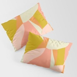 Veda King Size Pillow Sham by Sunshinecanteen - STANDARD SET OF 2 - Cotton