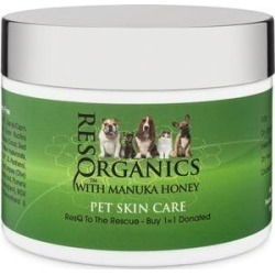 ResQ Organics Skin Treatment with Manuka Honey Dog & Cat Skin Care, 8-oz jar found on Bargain Bro Philippines from Chewy.com for $39.95