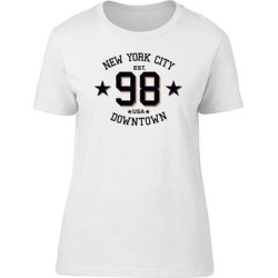 Sports New York City Downtown Tee Men's -Image by Shutterstock (L), White found on Bargain Bro Philippines from Overstock for $13.99