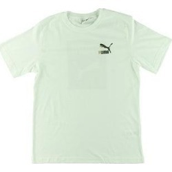 Puma Mens Wild Pack T-Shirt Running Fitness (White - M), Men's(cotton) found on Bargain Bro from Overstock for USD $11.54