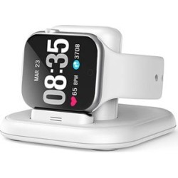 BXD Docking Stations White - White Apple Watch Charging Dock found on Bargain Bro Philippines from zulily.com for $14.99