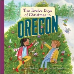 Sterling Picture Books - The Twelve Days of Christmas in Oregon Hardcover found on Bargain Bro from zulily.com for USD $6.83