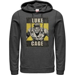 Fifth Sun Men's Sweatshirts and Hoodies CHAR - Luke Cage Charcoal Heather Hoodie - Men found on Bargain Bro from zulily.com for USD $26.59