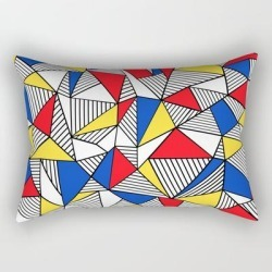 Rectangular Pillow | Ab Mond by Emeline - Small (17