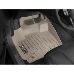 WeatherTech Floor Mat Set, Fits 2009-2010 Pontiac Vibe, Primary Color Tan, Material Type Molded Plastic, Model 451871 found on Bargain Bro from northerntool.com for USD $97.24