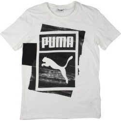 Puma Mens T-Shirt Running Fitness - Puma White (M), Men's(cotton) found on Bargain Bro from Overstock for USD $21.61
