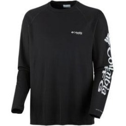 Columbia Terminal Tackle Long Sleeve Shirt (Black - XL), Men's(polyester, printed) found on MODAPINS from Overstock for USD $37.34