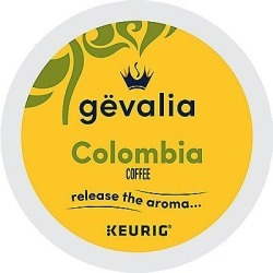 96 Ct Gevalia Colombian Coffee, 96-Count (4 Boxes Of 24) K-Cup® Pods. Coffee found on Bargain Bro from Keurig.com for USD $54.69