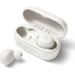 Yamaha TW-E3 true-wireless headphones (white) found on Bargain Bro from Crutchfield for USD $75.96