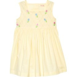 Sweetdil Girls' Casual Dresses Butter - Butter Tulip Grid A-Line Dress - Toddler & Girls found on Bargain Bro Philippines from zulily.com for $15.79