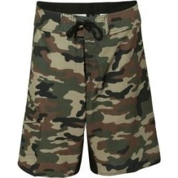 Diamond Dobby Board Shorts (36 - Green Camo), Men's, Green Green, Burnside(polyester) found on Bargain Bro Philippines from Overstock for $41.95