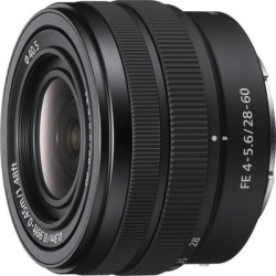 Sony FE 28-60mm F/4-5.6 Full Frame Zoom Lens found on Bargain Bro from Crutchfield for USD $378.48