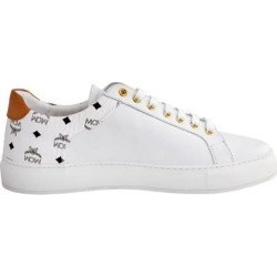 Ladies M Logo Combi Lt Sneakers, Brand - White - MCM Sneakers found on MODAPINS from lyst.com for USD $250.00