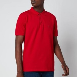 Contrast Placket Polo Shirt - Red - Tommy Hilfiger T-Shirts found on Bargain Bro from lyst.com for USD $66.88