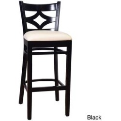 Diamond Bar Stool (Black) found on Bargain Bro India from Overstock for $151.19