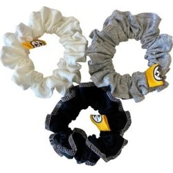 Pittsburgh Steelers Refried Apparel Upcycled 3-Pack Scrunchie Set found on Bargain Bro Philippines from nflshop.com for $24.00