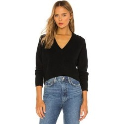 Madalene V Neck Sweater - Black - Equipment Knitwear found on Bargain Bro India from lyst.com for $207.00