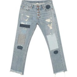 Denim Trousers - Blue - NSF Jeans found on MODAPINS from lyst.com for USD $422.00