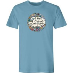 Women's Graphic Tee – Craft, Sky Blue/Craft L Misses found on MODAPINS from Blair.com for USD $19.99