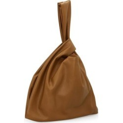 Jen Bag In Vegan Leather - Brown - Nanushka Clutches