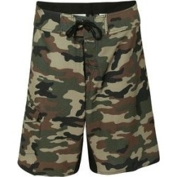 Diamond Dobby Board Shorts (34 - Green Camo), Men's, Green Green, Burnside(polyester) found on Bargain Bro Philippines from Overstock for $41.95