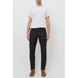 Henley Slim Fit Raw Selvedge Denim Jeans - Blue - Baldwin Denim Jeans found on MODAPINS from lyst.com for USD $60.00