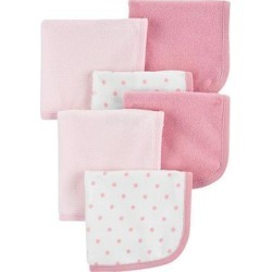 Baby Girls Carter's 6-Pack Washcloths, Pink found on Bargain Bro from Kohl's for USD $14.82