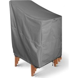 Khomo Gear Patio Furniture Covers GREY - Gray Stackable Outdoor Chair Cover found on Bargain Bro from zulily.com for USD $21.24