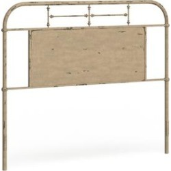 Liberty Vintage Distressed Queen Metal Headboard (Red), Carbon Loft found on Bargain Bro Philippines from Overstock for $432.49