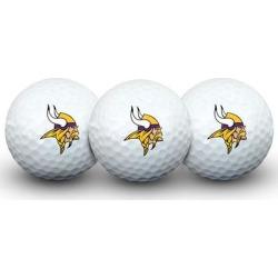 Minnesota Vikings Pack of 3 Golf Balls found on Bargain Bro from nflshop.com for USD $9.87
