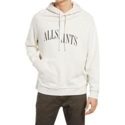 Men's Diverge Logo Hoodie - White - AllSaints Sweats