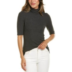 Goldie Turtleneck T-Shirt (XS), Women's, Gray(spandex) found on MODAPINS from Overstock for USD $50.59